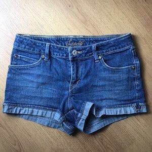 Levi's Cuffed Jean Shorts